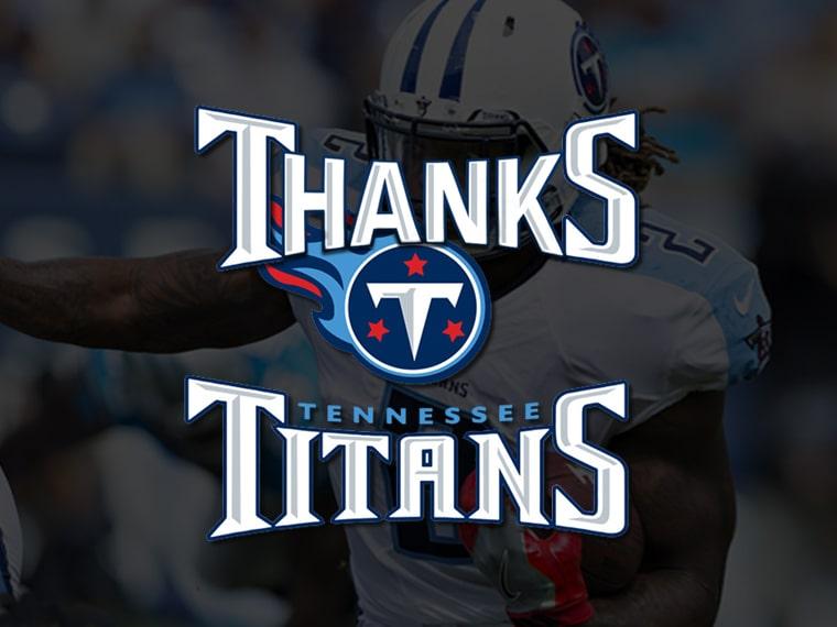 Thank You Titans
