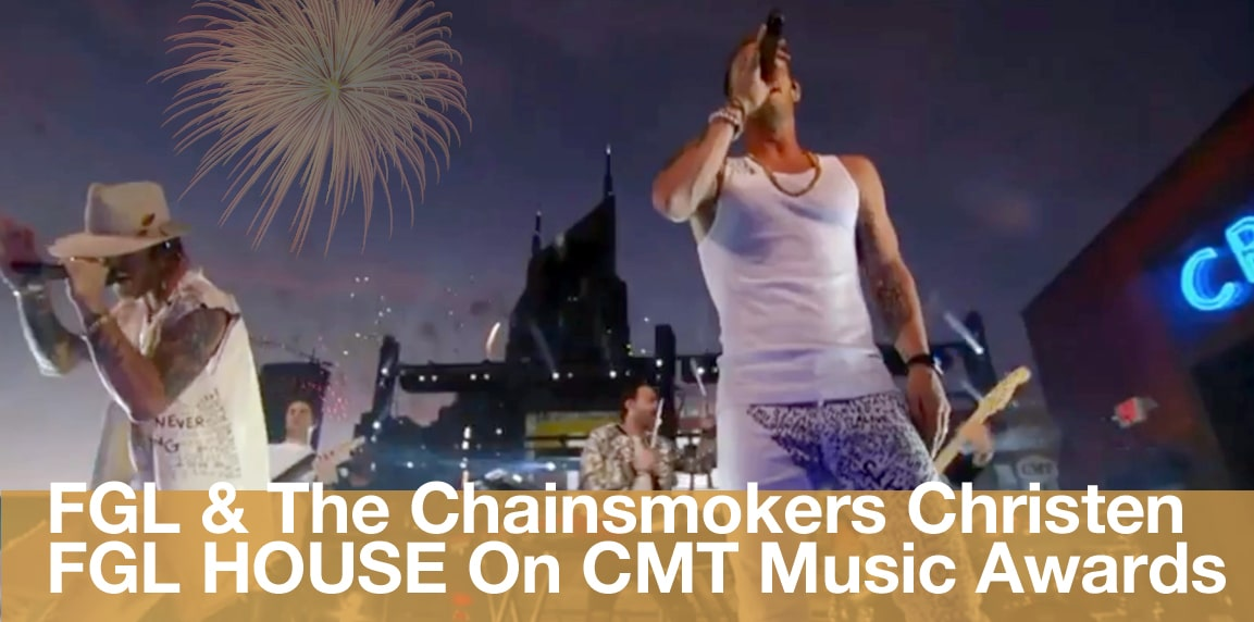 FGL & Chainsmokers Rooftop Concert