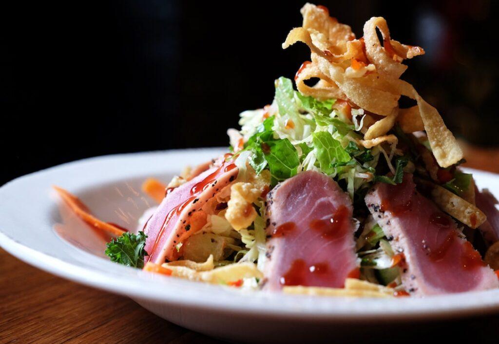 Jason Aldean's Ahi Tuna Salad